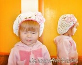Baby hat Organic Cotton Summer Beret for Girl