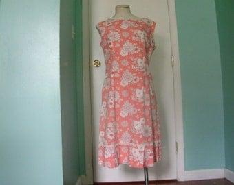 1960s Easy Summer Shift Dress