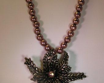 Vintage button necklace Clearance sale!