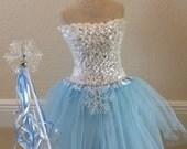 Frozen Costume, Elsa Costume, Frozen Tutu Dress, Elsa Frozen Dress, Frozen Elsa Costume, Frozen tutu, ELSA tutu Dress, tutu, Birthday tutu