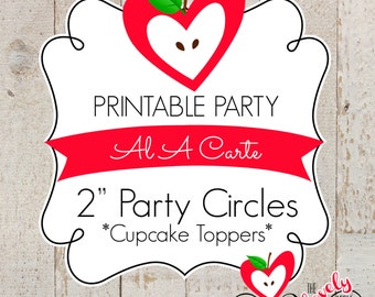 PRINTABLE A LA CARTE---2 inch Party Circles
