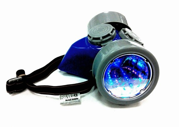 Rave Gas Mask Led Gas Mask Rave Accessory