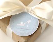 CINDERELLA Bridal Shower Favor Label / Tag Printable