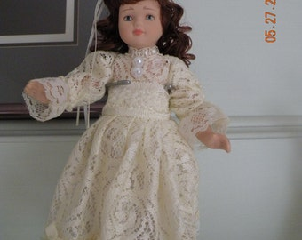 Porcelain Numbered Doll