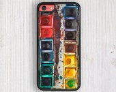 Vintage Painting Set iPhone Case, iPhone 5 / 5S Case, iPhone 6 case, ipHone 5c case, iPhone 4 / 4S case
