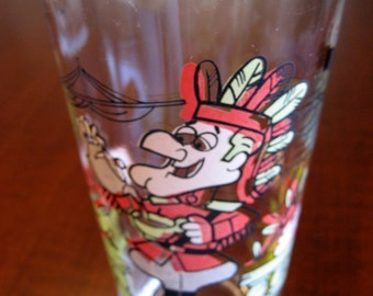 Dudley DoRight Collector Glass - Dudley DoRight Arby's Collector Glass - Dudley Takes Tea to Sea
