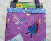 Frozen Queen Elsa Princess Anna Girls Tote Bag Trick or Treat Bag Easter Basket
