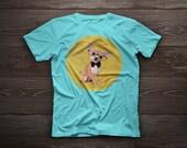 Chihuahua t-shirt, dog tshirt Chihuahua tshirt dog lover t-shirt gift funny t-shirt pet portrait dog t-shirts dog portrait tee shirts pet