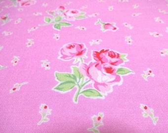 Japanese Fabric LECIEN Flower Sugar Pink FQ