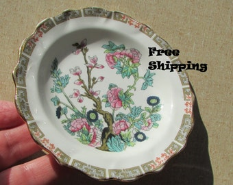 Plate, Tree of Life Plate, Duchess Bone China, England, Butter Plate, Asian Oriental, Ships Free Lower 48 USA ~ BreezyJunction.etsy.com