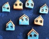 Little Ceramic Beach Cottage Charms