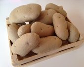 Pretend Play Felt Food Potatoes - Small / Large / as a Set