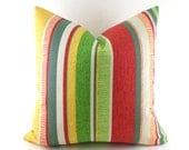 Outdoor/Indoor Pillow Covers ANY SIZE Decorative Pillows Green Pillow Richloom Outdoor Coltrane Garden