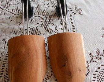 Vintage Wooden Shoe Stretchers