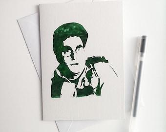 Harold Ramis, Egon Spengler, ghostbusters Card