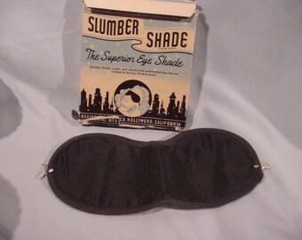 Glamorous Slumber Shades Superior Eye Shade Hollywood CA Original Box Too