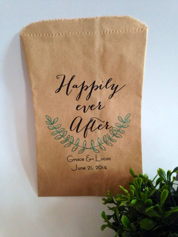 Weddings candy buffet bag favor bags cookie bar by for Cookie bags for wedding