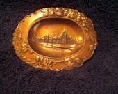 St. Louis World Fair souvenir copper tray