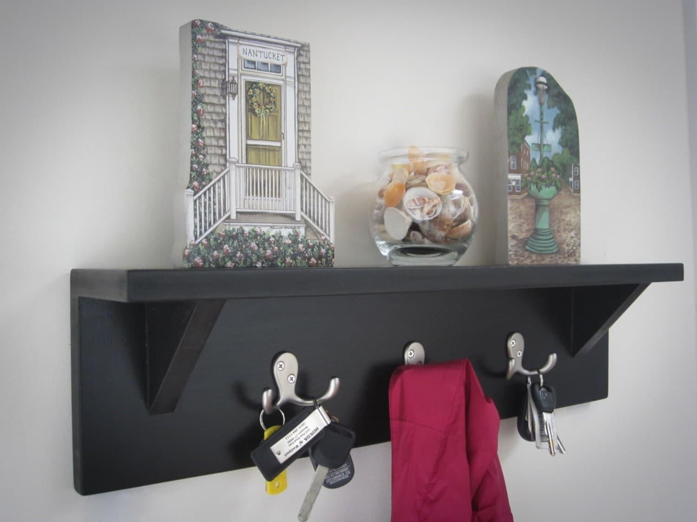 Wall Shelf Organizer Key Holder Key Rack Coat By