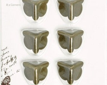 Kaisercraft Treasures Metal Corners Brass