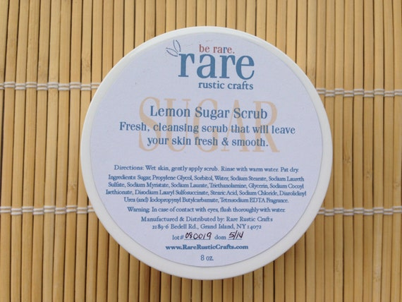 Rare Rustic Crafts Lemon Sugar Scrub at Sears.com
