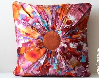 Fall Autumn Decor Brown Throw Pillow Cover Decorative Cushion Cover Brown Pillow Decorative Pillow Autumn Pillow Colorful Accent Pillow