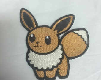 Pokemon Eevee Iron on or sew on Patches
