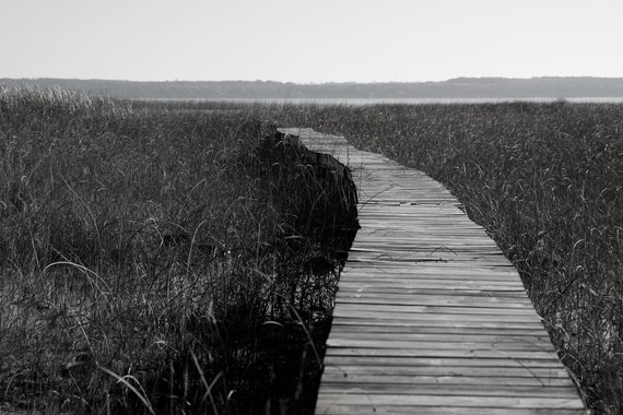 Lake Michigan Photograph, Dock, Black and White, Traverse City, Boating, Michigan, Grand Haven, Leelanau, Frankfort