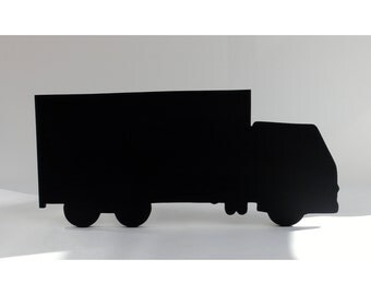 Truck / Lorry Shaped Blackboard / Chalkboard