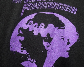The Bride of Frankenstein  tee shirt