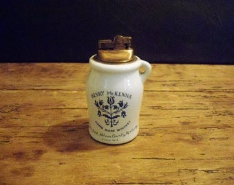 Vintage Henry Mckenna Whiskey Jug lighter