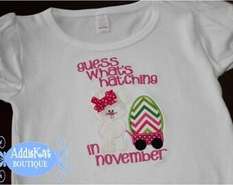 Easter Pregnancy Announcement Shirt