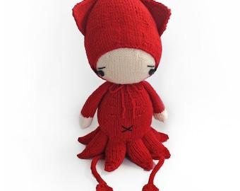 Onesie - squid / octopus - Knitting Pattern PDF