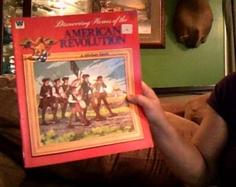 american revolution sticker book