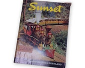 Vintage SUNSET Magazine June 1964 June is festival time in Portland