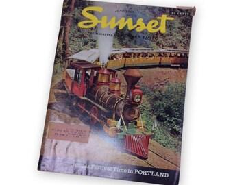 Vintage SUNSET Magazine June 1964 June is festival time in Portland