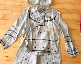 Vintage 1950s Ricky Rivets Three Piece Halloween Robot Costume