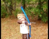 Blue Bow and Arrow set for young child (20lbs)