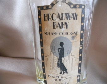 Vintage Deco Perfume Bottle Broadway Baby