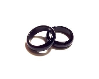 Black Onyx Ring size 4 - 11.25 US
