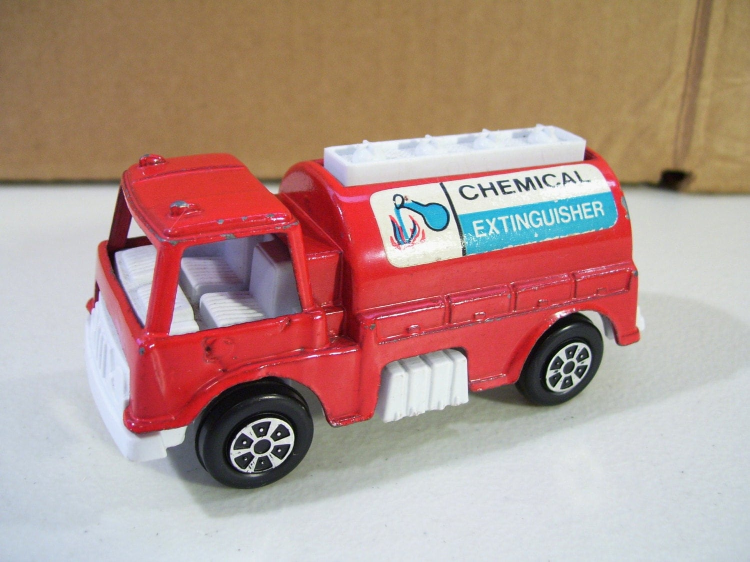 Tootsietoy Chemical Extinguisher Truck Diecast By