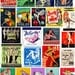 22 Vintage Pinup Matchbooks. Vintage MATCHBOOK Printable Collage DIGITAL Download. Vintage Risque Matchbooks Collage To Print. Various Sizes