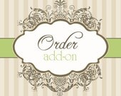 Larger Tie Size ADD-ON to Previous Order- What a Fancy Pansy Shop