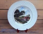 Collectible Wood & Sons Burslem English Ironstone Tudor Plate