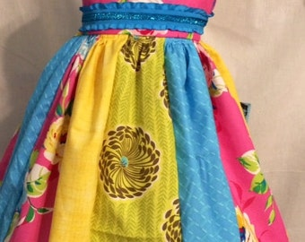 Party dress for girls, size 2T dress, birthday dress, tea party dress
