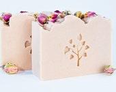 Desert Rose Goats Milk Soap, Goat Milk Soap, Cold Process Soap, Mothers Day