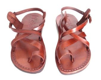 Leather Sandals, Leather Sandals Women, Sandals, Women's Shoes, TEL AVIV, Flip Flops, Biblical Sandals, Jesus Sandals