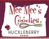 Huckleberry Spread 3- 8 oz Jars-- FREE SHIPPING!