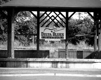 Delta Blues, Music Inspired, Fine Art Photography, Blues Music, Blues Trail, Black and White Photography