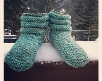 Mukluk Knitting Pattern : FREE MUKLUK SLIPPER KNITTING PATTERN - VERY SIMPLE FREE KNITTING PATTERNS